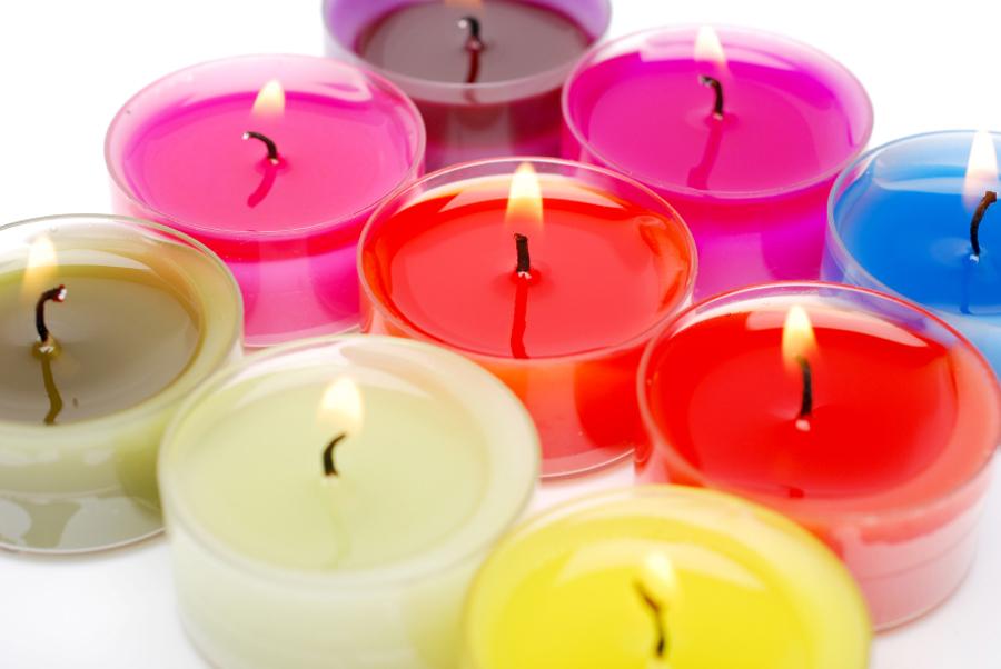 Coloranti per cera e candele