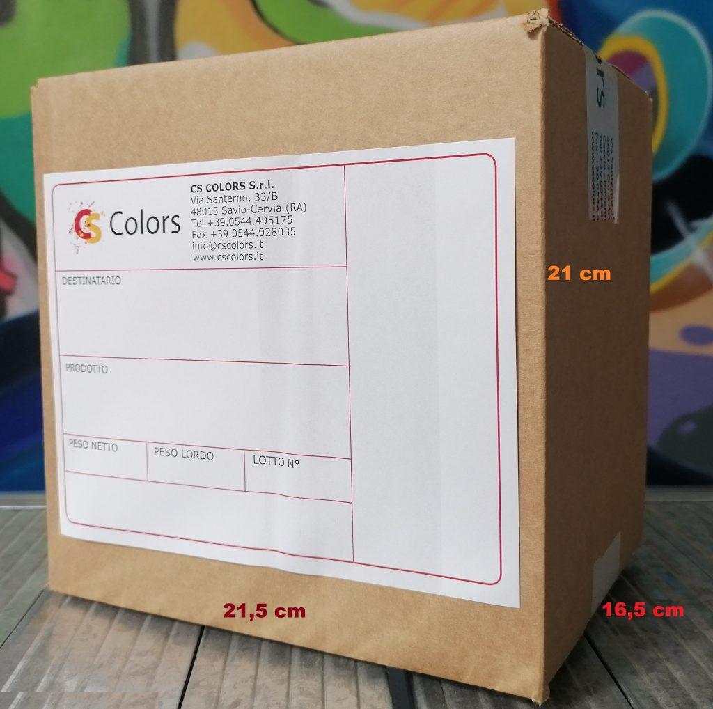 scatola cartone 21,5x16,5x21